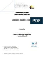 Module-2-Creating-Objects-final