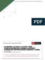 Archivos del Presente _ Lo bueno, lo malo y lo feo_ tres conclusiones del posible acuerdo comercial entre Estados Unidos y China - archivos del presente