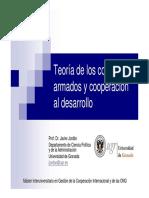 Teoría de los conflictos armados y cooperación