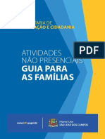 Guia para as famílias fascículo 1