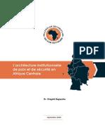 L_architecture institutionnelle de paix et de sécurité en Afrique centrale
