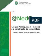 Aula 01 - textos e aconstrução da textualidade