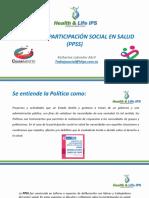 Política de Participación Social en Salud (PPSS)