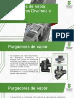 T1 - Purgadores de Vapor, Separadores Diversos e Filtros (1).pptx