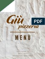 Menù Giù Pizzeria