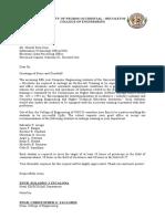 OJT Recommendation Letter - 2011