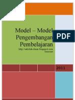Model – Model Pengembangan Pembelajaran