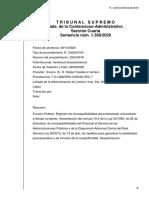 Sentencia incompatibilidad de Juan Carlos Monedero