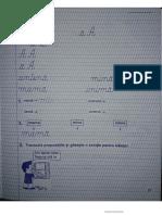 caiet de scriere