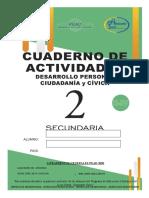 CUADERNO DE ACTIVIDADES PERSONAL Y CIVICA 4RTO BIMESTRE