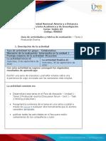 Guia de actividades y Rúbrica de evaluación - Unidad 1 - Tarea 2 - Producción Escrita (1)-convertido