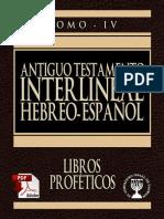 TANAJ – תנך – ANTIGUO TESTAMENTO – NEVIIM – נביאים – PROFETAS – INTERLINEAL HEBREO ESPAÑOL TOMO 4.pdf