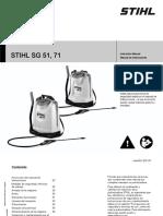 6. Manual Fumigadora SG 71