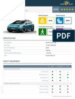Volkswagen ID.3 Euro NCAP Crash Safety Report