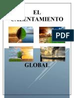 EL CALENTAMIENTO GLOBAL INFORMATICA