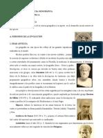 1. EVOLUCIÓN DE LA CIENCIA GEOGRÁFICA