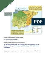Relleu i Hidrografia Espanya