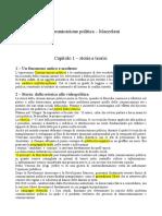 """""""La Comunicazione Politica"""" Riassunti"""
