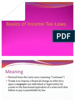 Basics of Indian Tax Laws