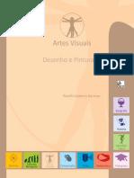 Livro Artes Plasticas - Desenho e Pintura III
