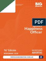 Programa CHO Américas 16 Edición - Noviembre 2020