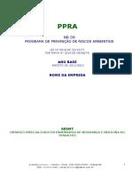 Modelo - Ppra
