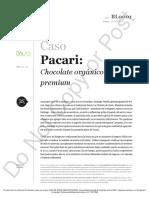 Pacarí chocolate organico