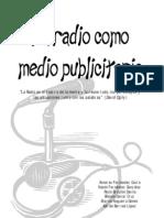 Radio como medio publicitario (grupo A)