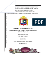 ANÁLISIS LITERARIO DEL CUENTO LOS OJOS DE LA CULEBRA