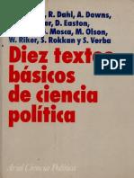 Anthony Downs- La teoria económica de la acción política en una democracia
