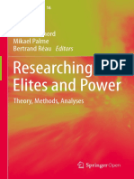 2 - DENORD - Researching Elites and Power