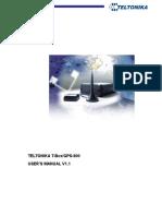 T-BoxGPS-800 User Manual