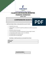 COMPRENSION ESCRITA Junio