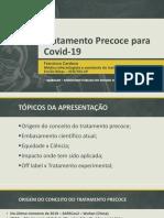 Tratamento Precoce para Covid-19 - Francisco Cardoso - Evidências Científicas