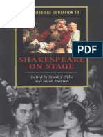 Stanley Wells, Sarah Stanton - The Cambridge Companion to Shakespeare on Stage (Cambridge Companions to Literature) (2002).pdf