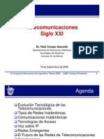Presentacion Telecomunicaciones Siglo XXI Vertice 2008