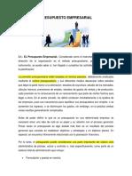 PRESUPUESTO EMPRESARIAL - 3