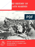 A Brief History of the 14th Marines