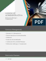 Gerencia Administrativa