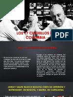 LOS 17 CUCHILLOS DE COLOMBIA