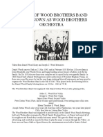 History of Wood Brothers Band