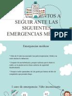 emergencias en un avion