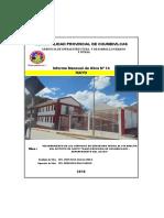 INFORME MENSUAL ADELITA MAYO  RESIDENCIA   2016