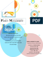 Project Managemrnt Project