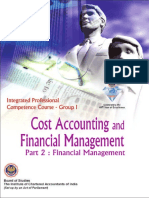 Cost Accounting & Financial Management VOL. II