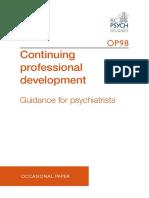 CPD Psychiatry Booklet