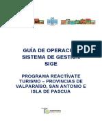 Guía SIGE para el Seguimiento Reactívate Valparaíso
