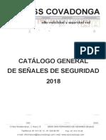 CATALOGO COVADONGA SEÑALES DE SEGURIDAD 2018 versionweb