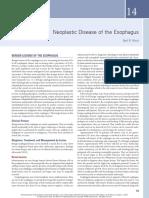 14. Neoplastic Disease of the Esophagus (1).pdf