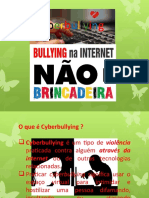 SLIDES - CYBERBULLYING - 9º ANO TARDE